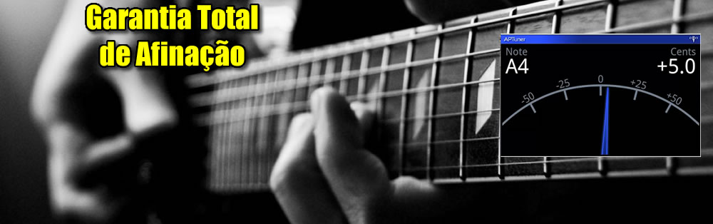 Afinação de Instrumentos Musicais