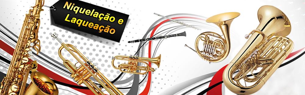 Niquelação e Laqueação de Instrumentos Musicais